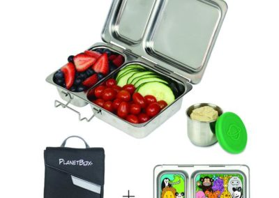 PlanetBox® Shuttle Set (includes bento, case, & magnets)