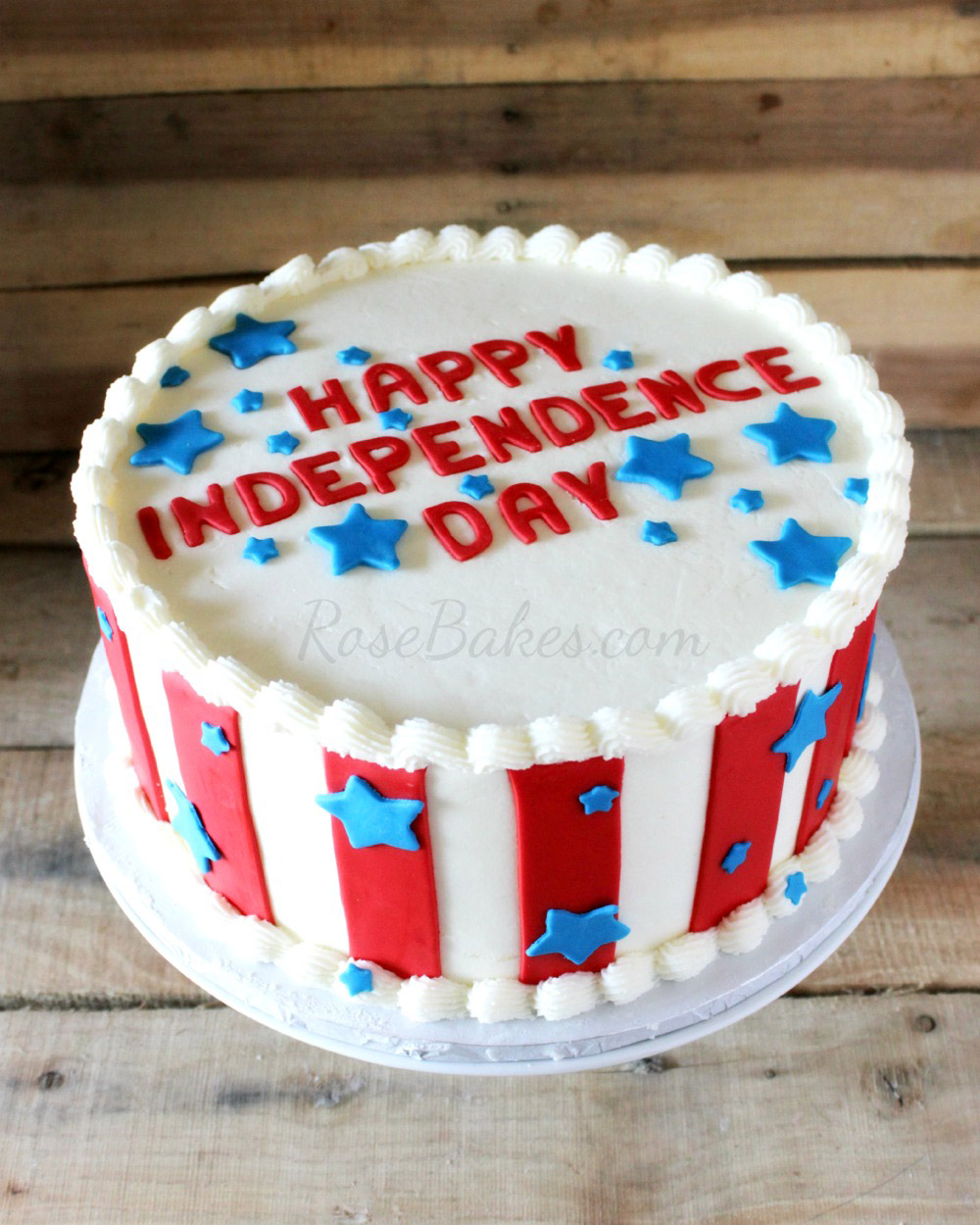 4th of July Decorate A Cake Foodie Kids Parties Cooking Classes